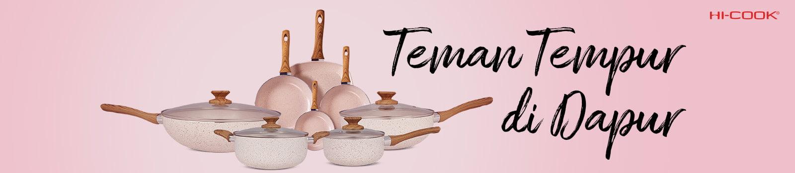 Teman Tempur Di Dapur Pan Hi-Cook
